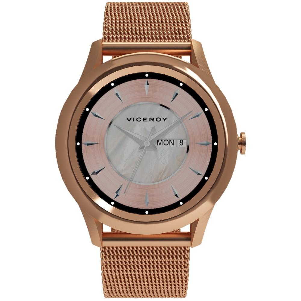41102-70 Reloj smartwatch Viceroy Smartpro dorado mujer joyería juan luis larráyoz pamplona