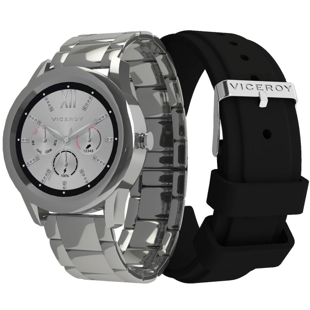 41102-80 Reloj smartwatch Viceroy Smartpro dorado mujer joyería juan luis larráyoz pamplona