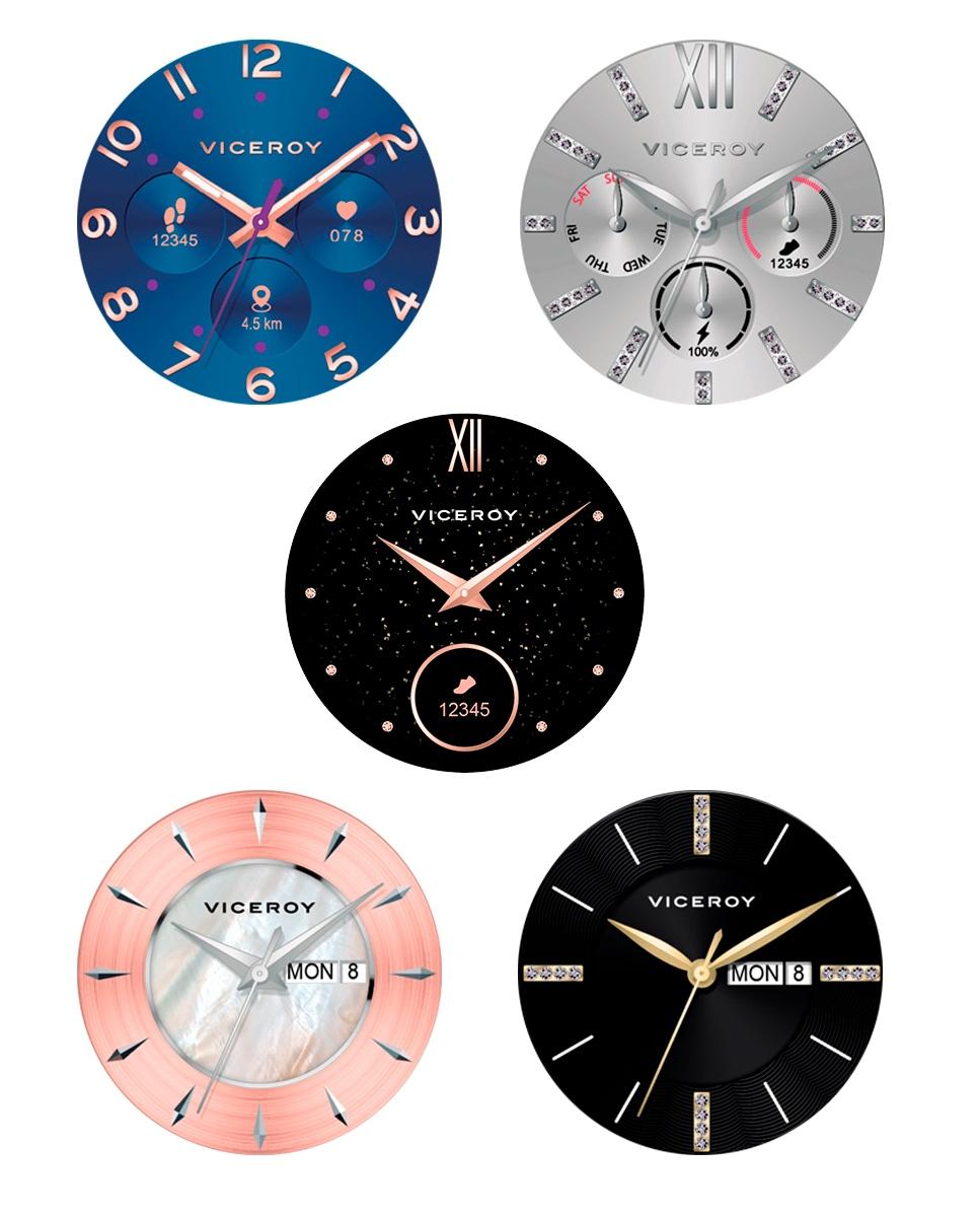 41102-90 Reloj smartwatch Viceroy Smartpro dorado mujer joyería juan luis larráyoz pamplona