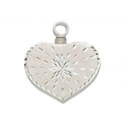 Portacenizas guardacenizas plata clgante cofre de los deseos plata joyería juan luis larráyoz pamplona