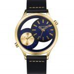 Reloj viceroy doble hora dorado correa piel Joyería Juan Luis Larráyoz Pamplona joyería relojería online comprar relojes lotus
