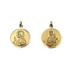 escapulario virgen del carmen medalla 12mm joyería juan luis larráyoz pamplona
